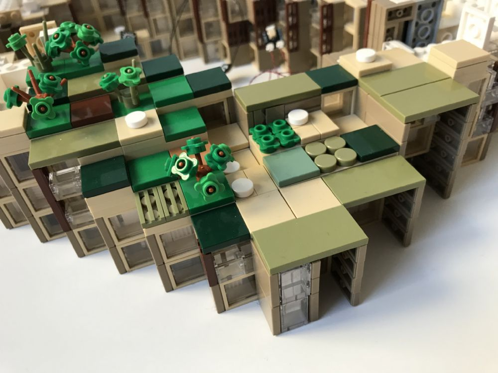 article picture: BIG Builders - LEGO modeller af Bjarke Ingels arkitektur