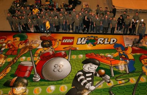 Billeder fra lego world 2011